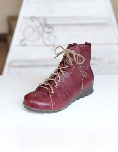 Think Menscha chaussure montante rosso