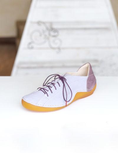 Think Kapsel chaussure lavende à lacet